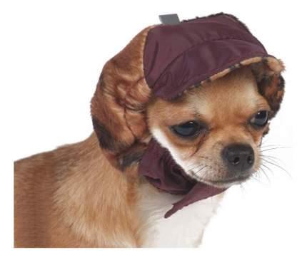 Шапка для собак ТУЗИК №2а теплая с велюром (плащевка,велюр,флис)