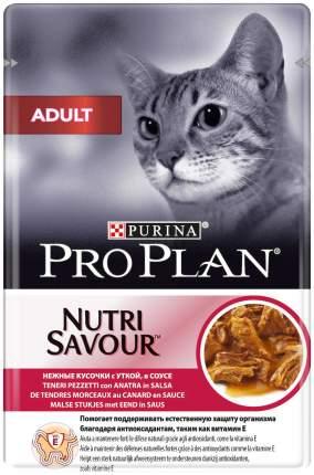 Влажный корм для кошек Pro Plan Adult со вкусом утки 85 г 68525