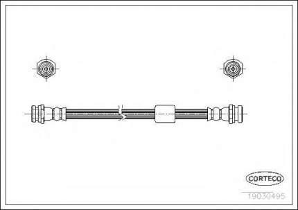 Шланг тормозной системы Corteco 19030495