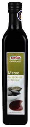 Масло Kotanyi gourmet из штирии тыквенное нерафинированное 500 мл