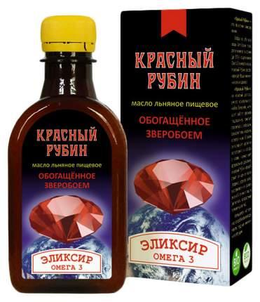 Масло Компас Здоровья льняное красный рубин 200 мл