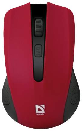 Беспроводная мышка Defender Accura MM-935 Red/Black (52937)