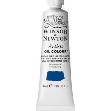 Масляная краска Winsor&Newton Artists винзор синий зеленый оттенок 37 мл