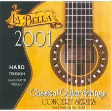 Струны для классической гитары LA BELLA 2001H