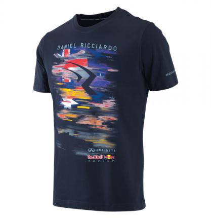 Женская футболка Infiniti M-115550 Red Bull Daniel Ricciardo Driver