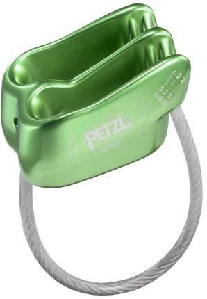 Страховочно-спусковое устройство Petzl Verso зеленое