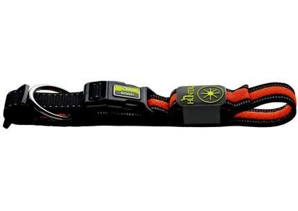 Ошейник для собак Hunter LED Manoa Glow, оранжевый, S 45-50 см