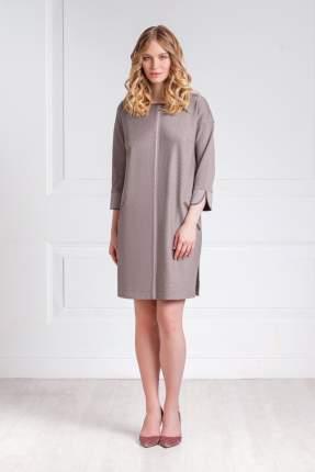 Домашнее платье женское Laete 30248 коричневое 2XL