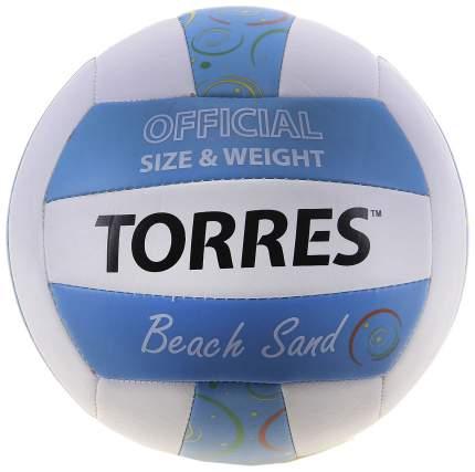 Волейбольный мяч Torres Beach Sand №5 sand blue