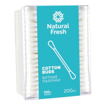 Ватные палочки Natural Fresh   200 шт