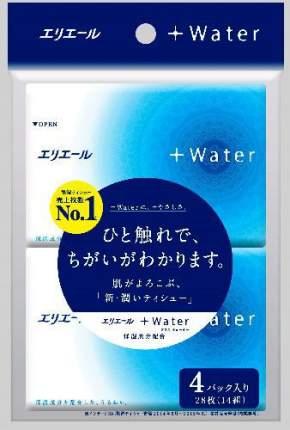 Салфетки Elleair Water бумажные платочки 56 штук