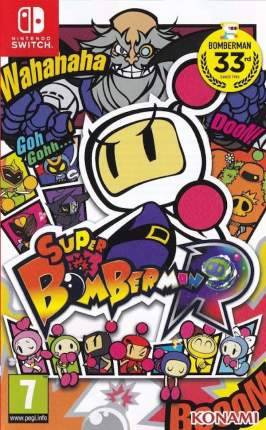 Игра Super Bomberman R для Nintendo Switch