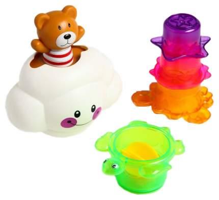 Набор игрушек для купания Мишка на облаке Sima-Land