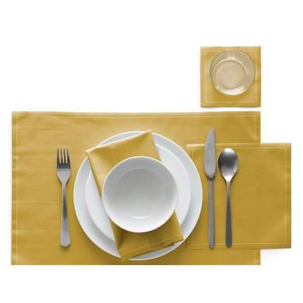 Сервировочные маты MY DRAP 45х32 см 12 шт в рулоне, цвет желтый