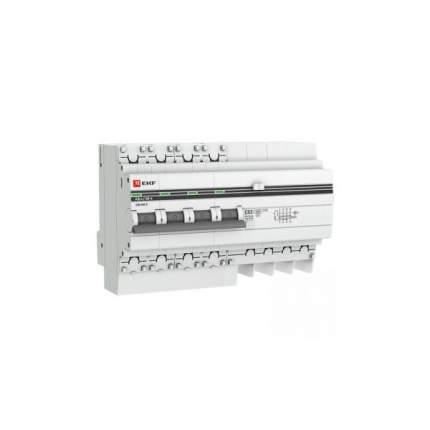 Дифавтоматы EKF DA4-25-100-pro