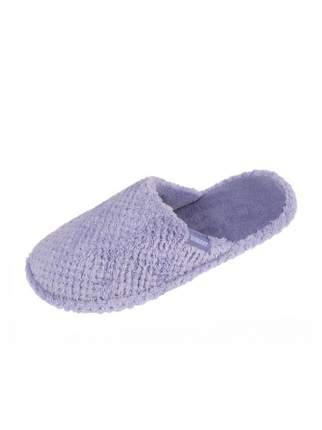 Домашние тапочки женские Isotoner 93317-1 фиолетовые 36 RU
