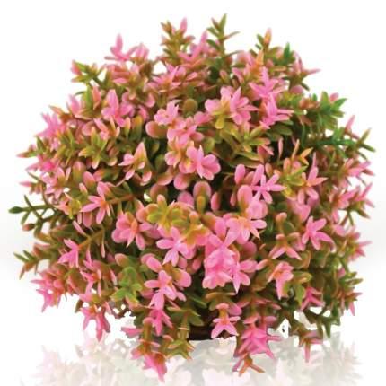 Искусственное растение для аквариума biOrb розовый цветочный шар, 10х10х8см