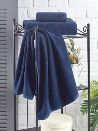 Банное полотенце KARNA EFOR синий 50х100 см (1 шт.)