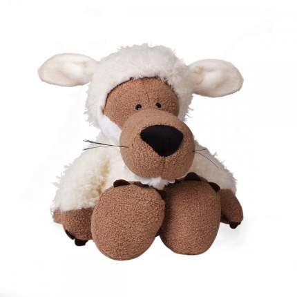 Игрушка мягкая Animal World Волк в овечьей шкуре белый 35 см