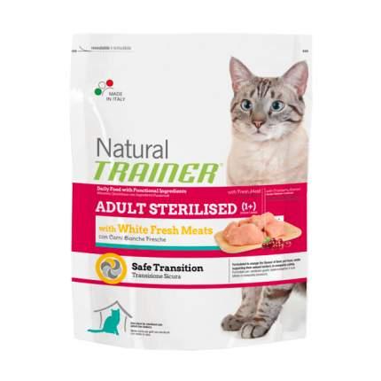 Сухой корм для кошек TRAINER Natural Adult Sterilised, для стерилизованных, мясо, 1,5кг