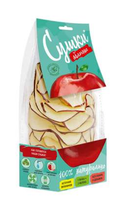 Чипсы фруктовые Биопродукты сушки из красного яблока 30 г