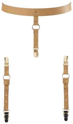 Подтяжки Bijoux для нижнего белья и чулок коричневые 0251