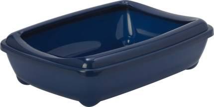 Лоток для кошек MODERNA Arist-o-tray с высоким бортом, черничный, 50 х 38 х 14 см