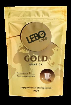 Кофе растворимый Lebo gold 100 г