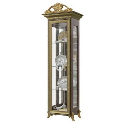 Платяной шкаф Мэри-Мебель Версаль ГВ-01К 1073093 66х48х216, орех тайский