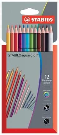 Карандаши цветные STABILO Aquacolor 1612-3 12 шт