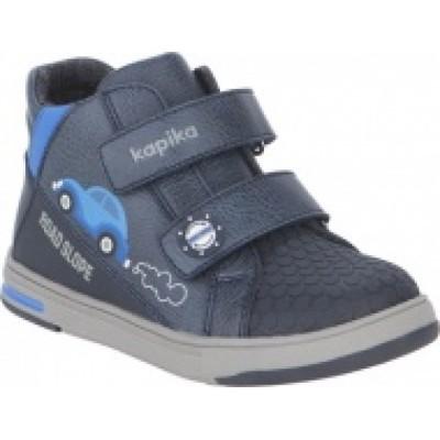 Ботинки Kapika цв. синий 52302 р.23