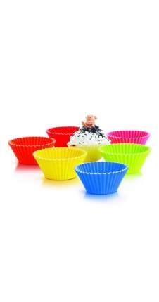 Набор для кексов из 6 силиконовых форм