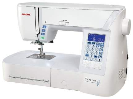 Швейная машина Janome Skyline S3 Белый