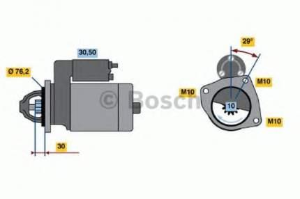 Стартер Bosch 0986017060