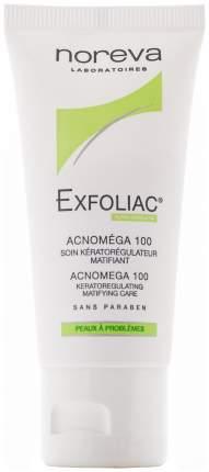 Крем для лица Noreva Exfoliac Acnomega 100 matifying care 30 мл