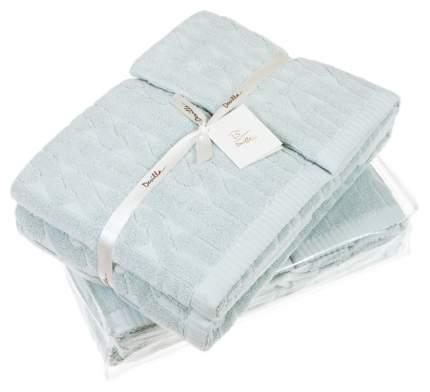 Банное полотенце, полотенце универсальное Devilla imperio голубой