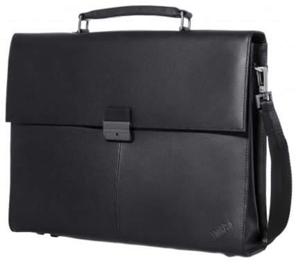 """Сумка для ноутбука 14.1"""" Lenovo ThinkPad Executive Leather Case черная"""