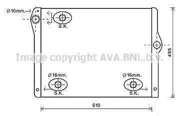 Радиатор Ava BW2430