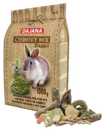 Корм для кроликов Dajana COUNTRY MIX 1 кг 1 шт