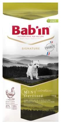 Сухой корм для собак Babin Signature Mini Sterilised, курица, 3кг