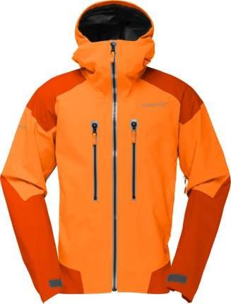 Спортивная куртка мужская Norrona Trollveggen Gore-Tex Pro, pure orange, M