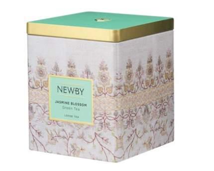 Чай зеленый Newby цветок жасмина в жестяных банках 125 г