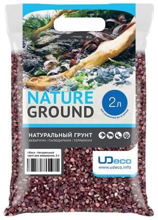 Грунт для аквариума UDeco Canyon Red 4-6 мм 2л