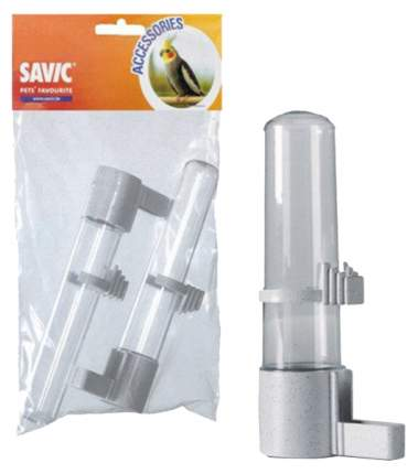 Поилка для птиц Savic Fountain, белый, 4х15 см, 2 шт