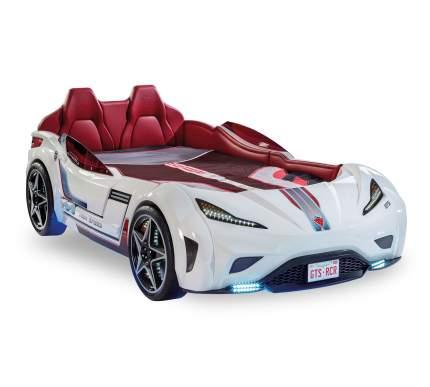 Кровать-машина Cilek Carbed GTS белая 100х190