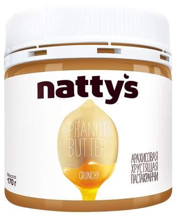 Паста арахисовая Natty's сrunchy хрустящая 170 г