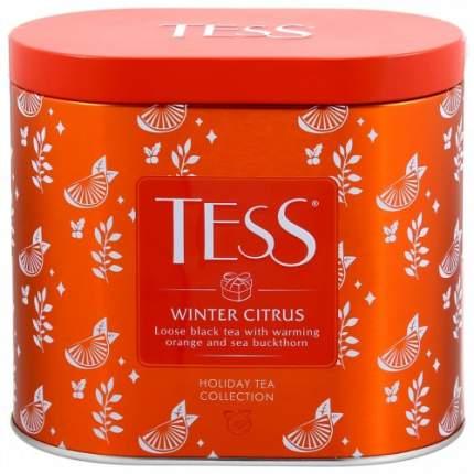 Чай черный листовой Tess winter citrus 100 г