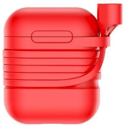 Чехол Baseus Silicone (TZARGS-09) для AirPods (Red)