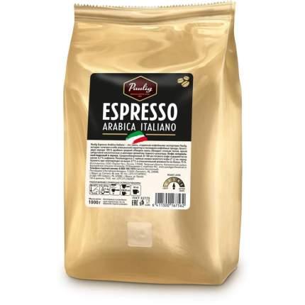 Кофе Paulig espresso arabica italiano в зернах 1 кг