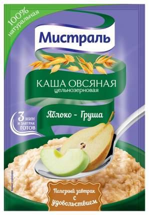 Овсяная каша Мистраль цельнозерновая  яблоко-груша 40 г